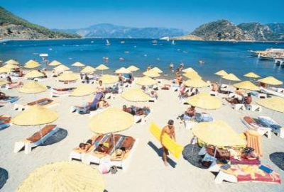 Мармарис - хотел Aqua 5* - плаж